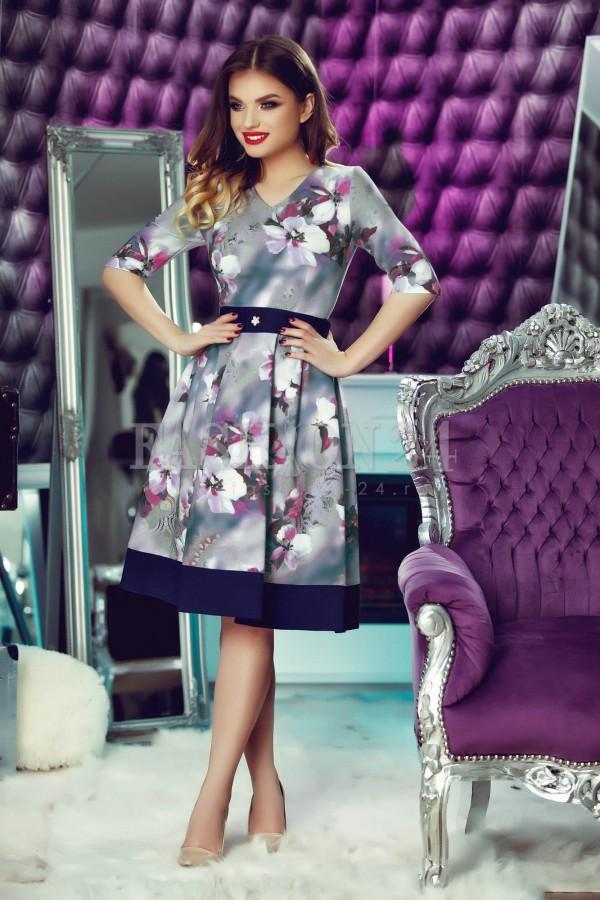 Rochie Eleganta Purple Motion