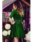 Rochie Eleganta Green Beads