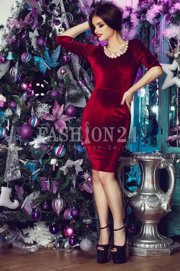 Imagine produs Rochie De Ocazie Purple Luxurious