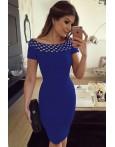 Rochie Eleganta Blue Accesory