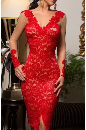Rochie Eleganta Red Magical