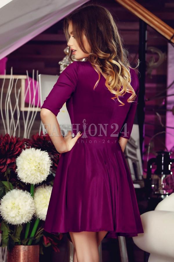 Rochie Eleganta Purple Beads