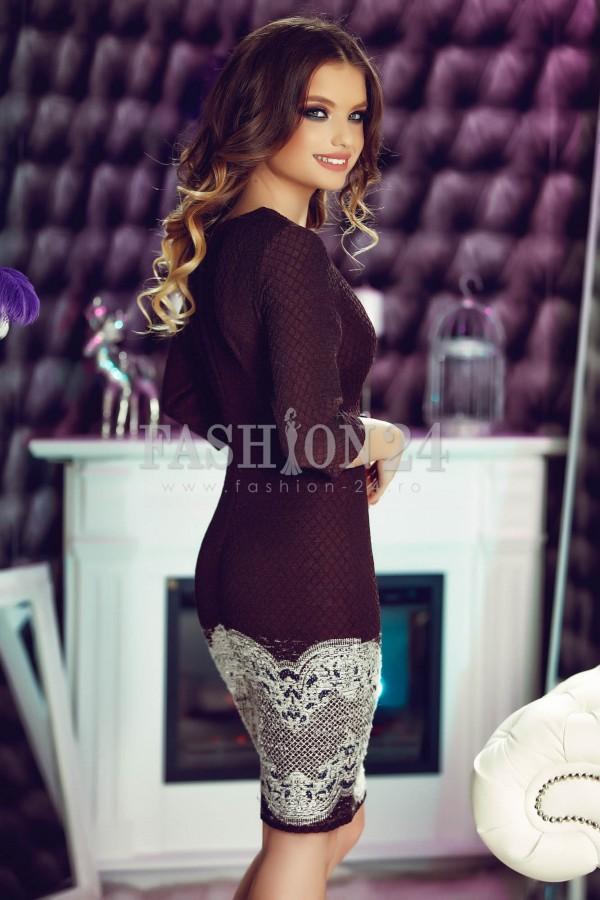 Rochie Eleganta Special Brown