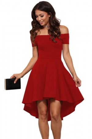 Rochie Enchanting Red