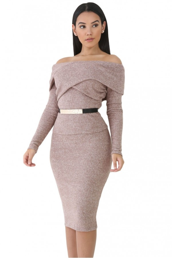 Rochie Brown Style