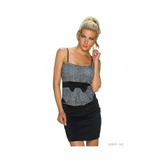 Rochie Black-Grey Office thumbnail