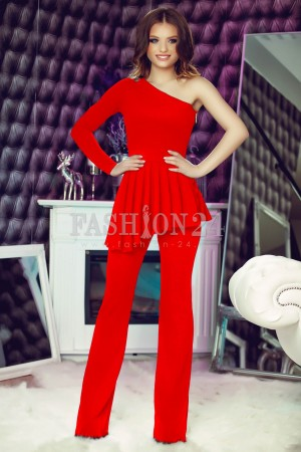 Salopeta One Sleeve Red