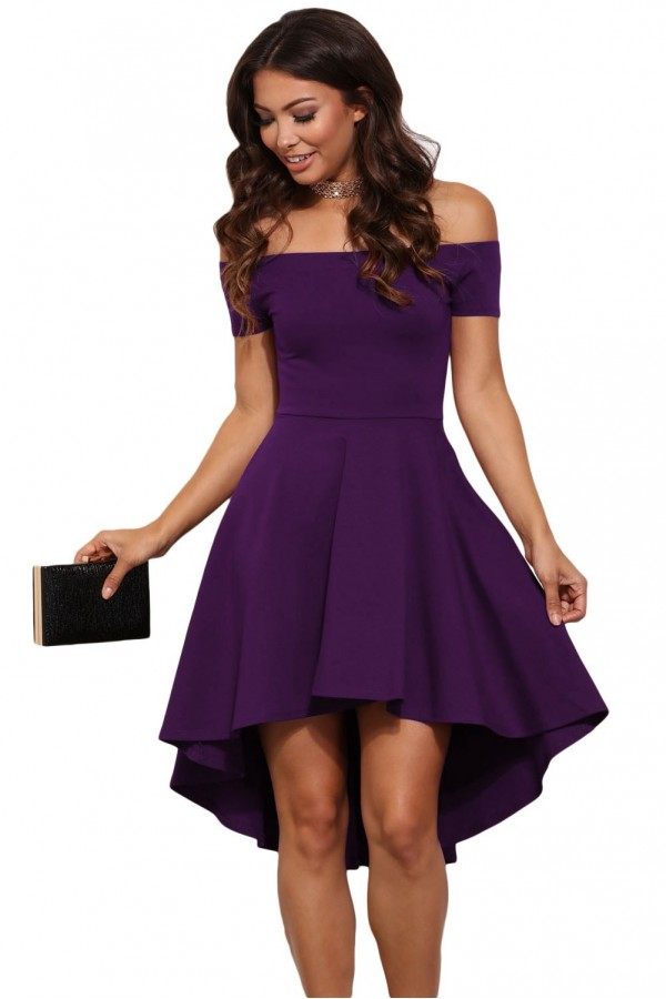 Rochie Enchanting Dark Purple
