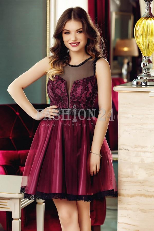 Rochie Purple Glam