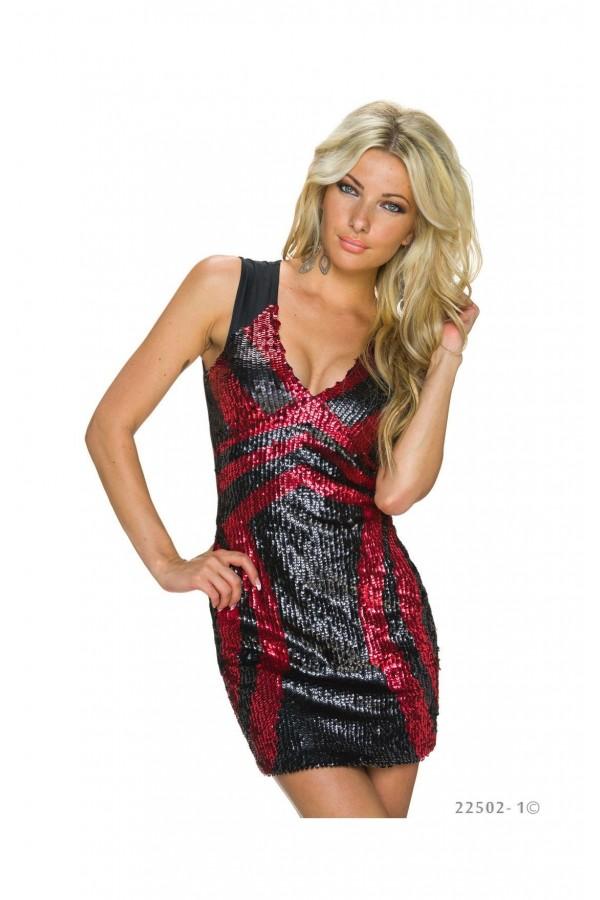Rochie Black&red Sensation