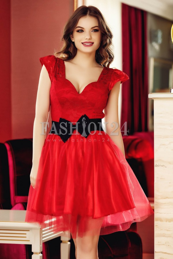 Rochie Famous Red