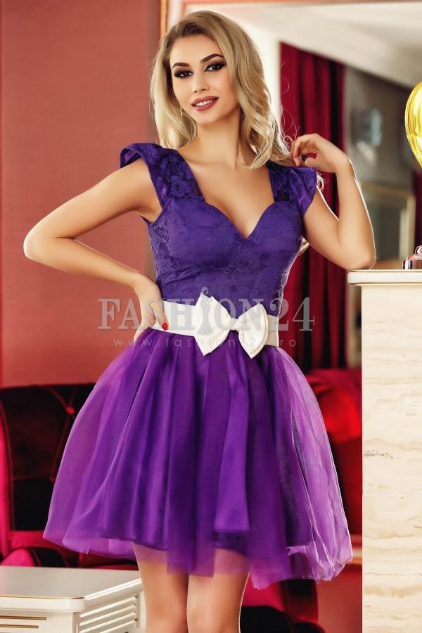 Rochie Famous Purple
