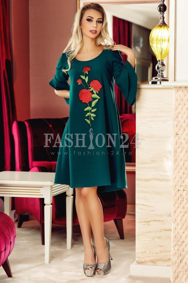 Rochie Green Fashionable