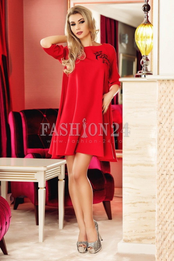 Rochie Red Frame