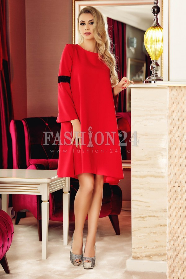 Rochie Red Simple