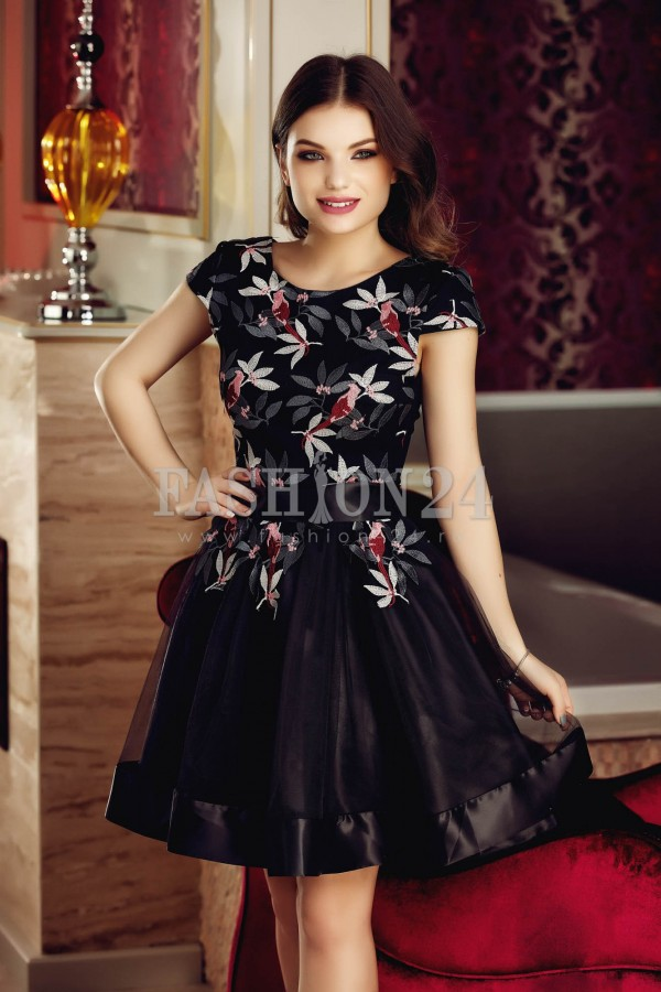 Magazin Online Haine - Rochie Black Stylish -Fashion-4u.Eu