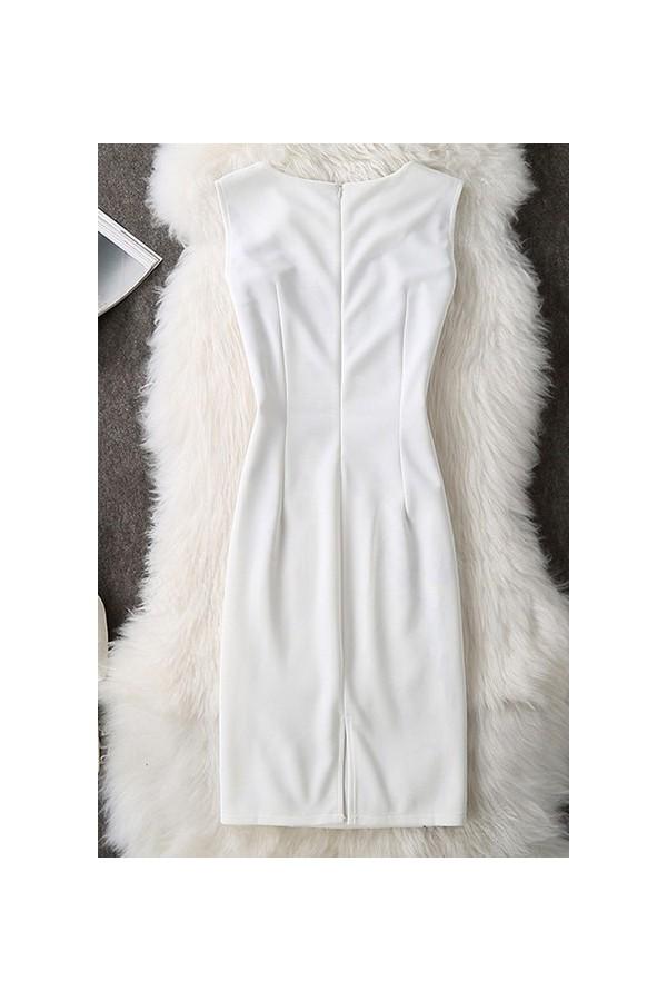 Rochie Cu Imprimeu Special White