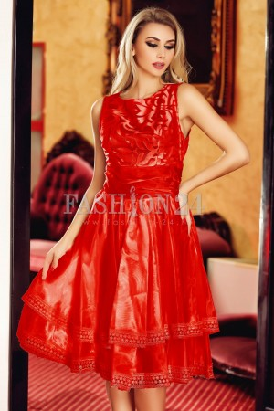 Rochie Red Shadow