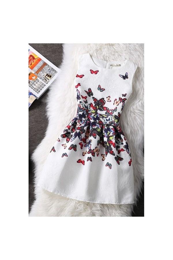Rochie Cu Imprimeu Numerous Butterflies