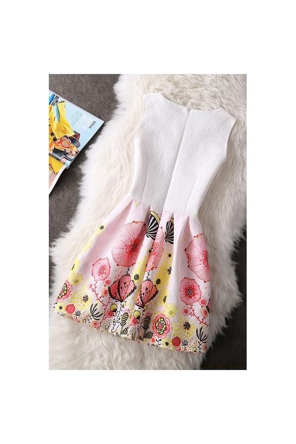 Rochie Cu Imprimeu Pink Days