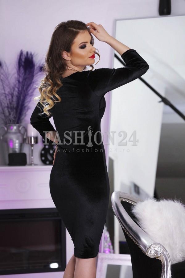 Rochie Velvet Look