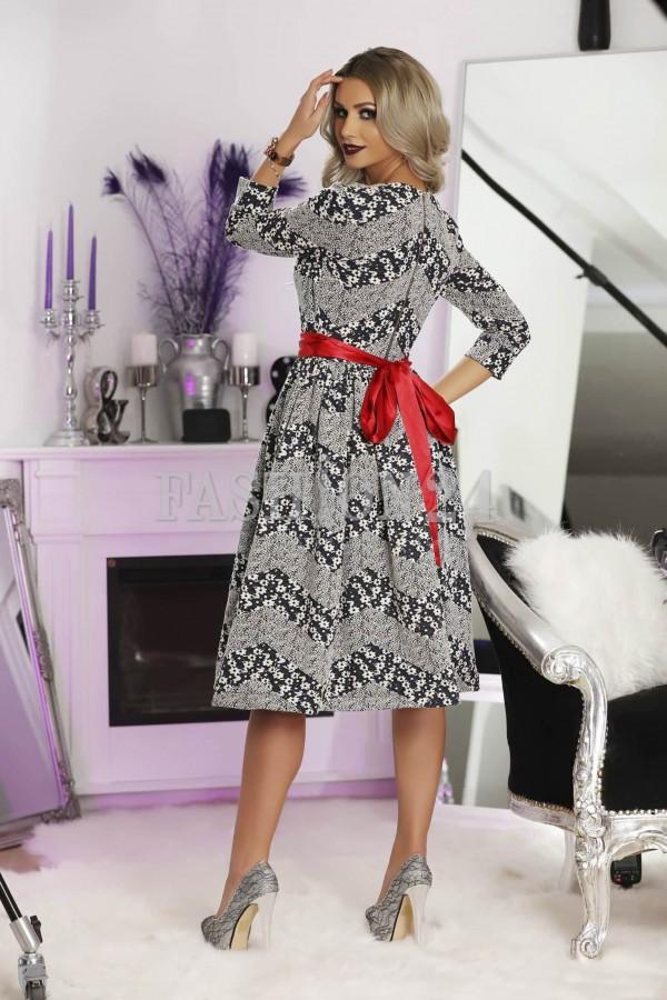 Rochie Midi Red Luxury