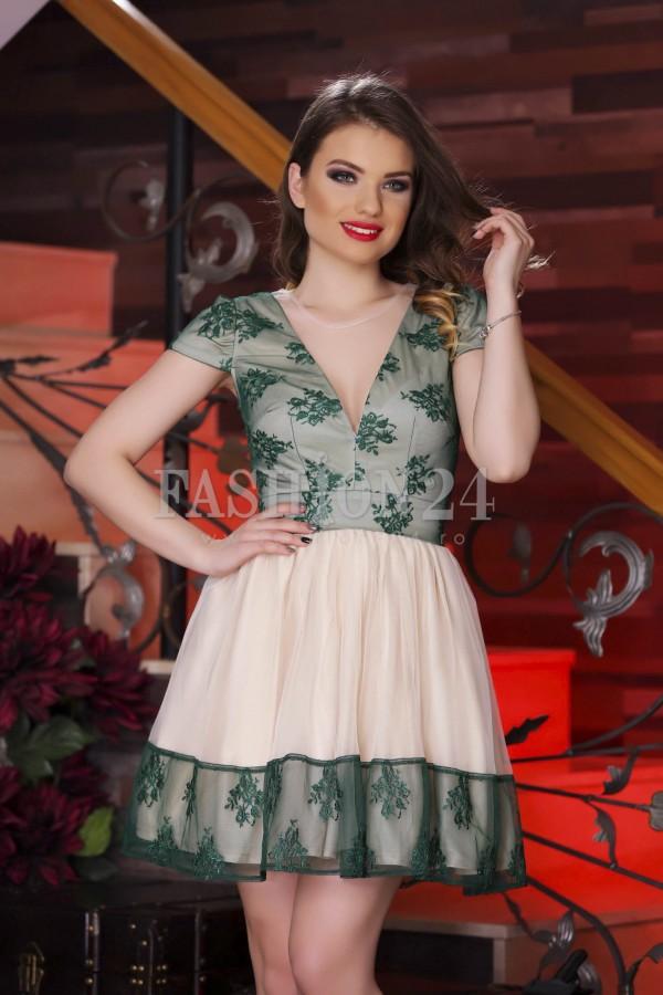 Rochie De Seara Green Seduction