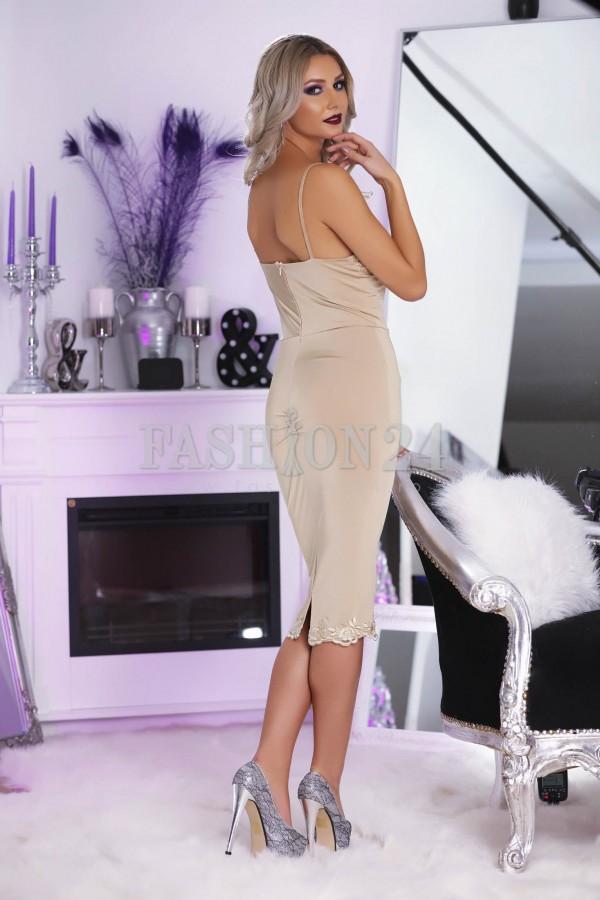 Rochie Beige Elegance