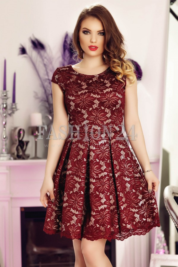 Imagine produs Rochie Burgundy Elements