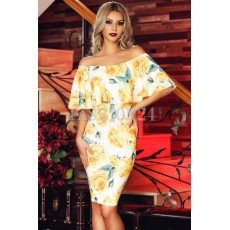 Rochie Yellow Contrast thumbnail