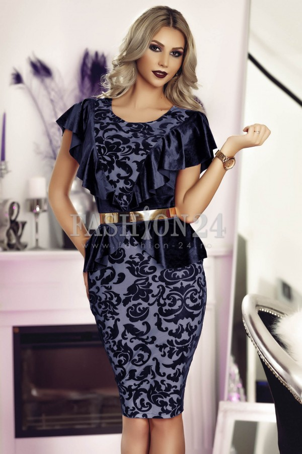 Rochie Dark Blue Sight
