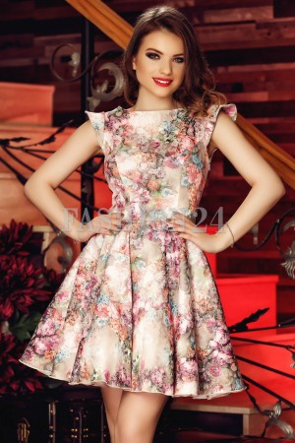 Rochie Pink Flax