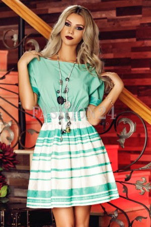 Rochie Turquoise Elements
