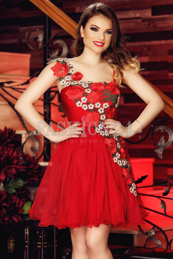 Rochie Red Charming