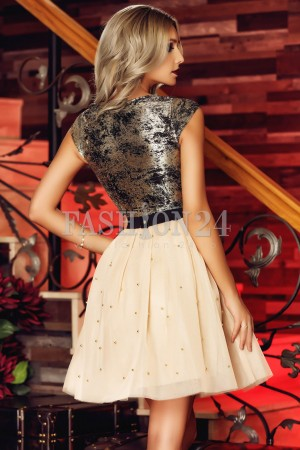 Rochie Gray Contrast