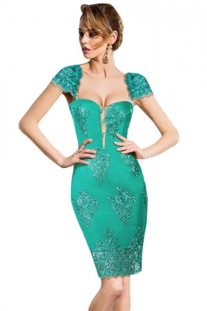 Rochie Actually Green