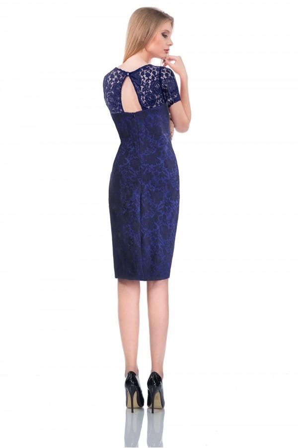 Rochie Dark Blue Elegance