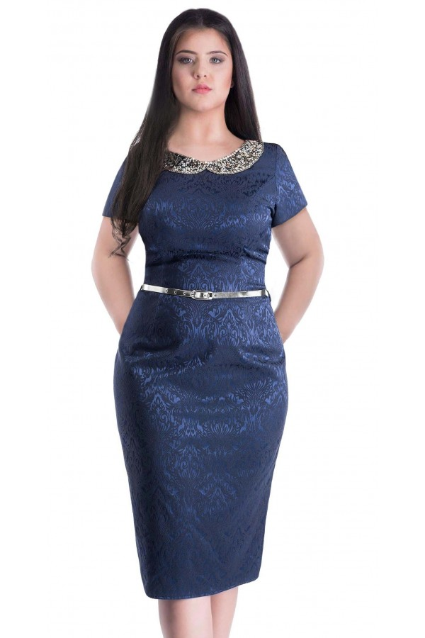 Rochie Dark Blue Attention