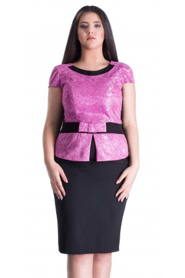 Rochie Purple Concept