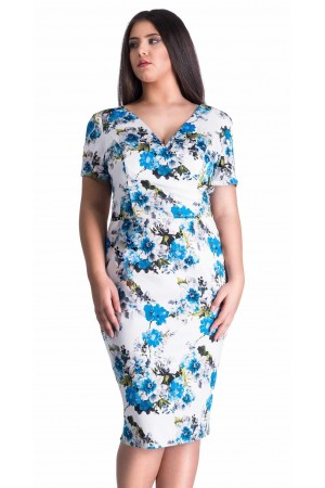 Rochie Turquoise Inserts