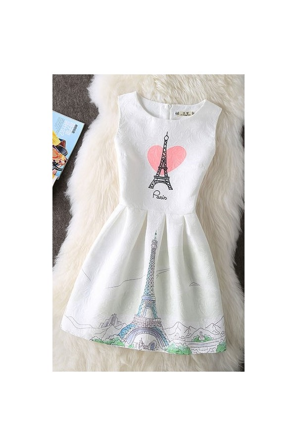 Rochie Cu Imprimeu Amour De Paris