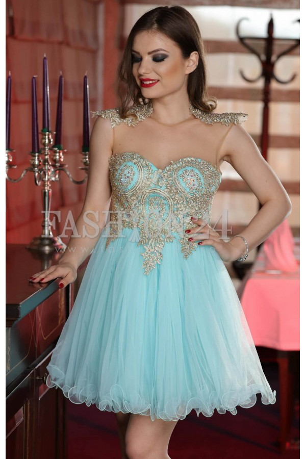 Rochie Turquoise Lady