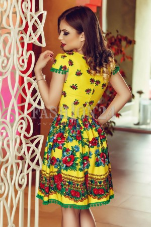 Rochie Gypsy Collection Yellow