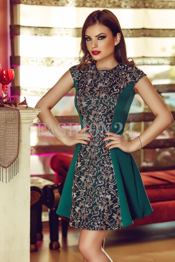 Rochie Special Green