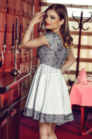 Rochie Forever White