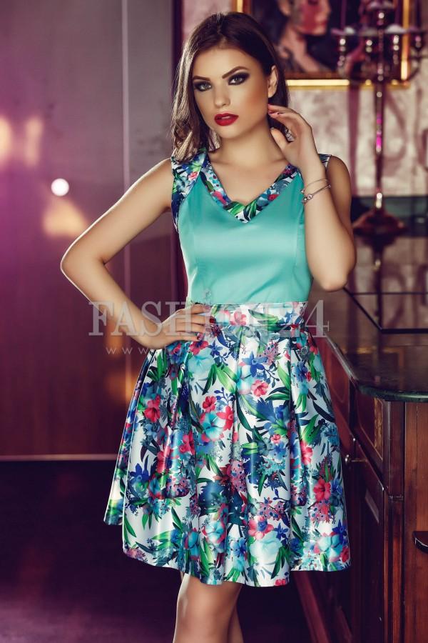 Rochie Fresh Turquoise