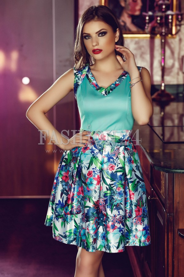 Rochie Fresh Turquoise