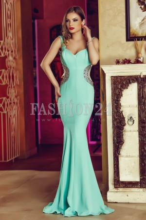 Rochie Turquoise Feature