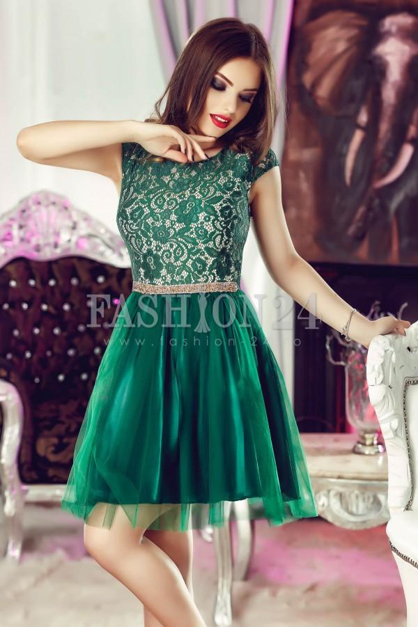 Rochie Green Beauty