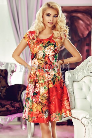 Rochie Orange Mirth
